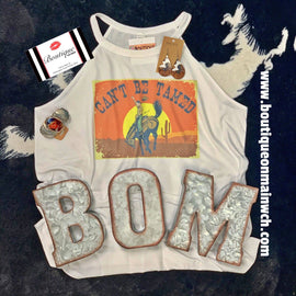 Can't Be Tamed Tank *Final Sale*