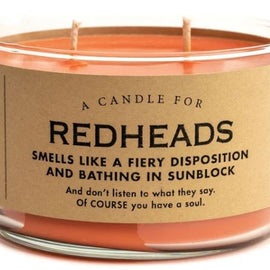 Redheads Candle