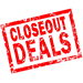 Closeouts / Discontinued