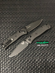 Benchmade 533BK-2 Mini Bugout AXIS Lock Knife Black Grivory S30V Drop Point