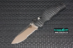 Benchmade 1000001BK Volli Knife Axis Spring Assisted Black Plain Edge