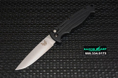 Benchmade 2550 Mini-Reflex Automatic Knife Satin Plain
