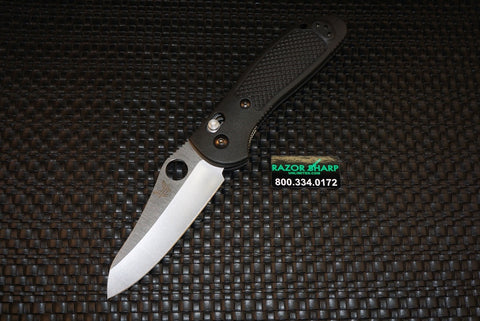 Benchmade Griptilian 550HG AXIS Lock Knife Black Satin