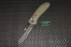 Benchmade Griptilian 550SBKHGOD AXIS Lock Knife OD Green S30V Satin Serrated