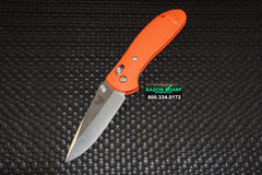 Benchmade Griptilian 551H2O AXIS Lock Knife Orange Satin Plain Edge