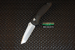 Benchmade 557 Mini Griptilian Tanto AXIS Lock Knife Plain Satin Edge