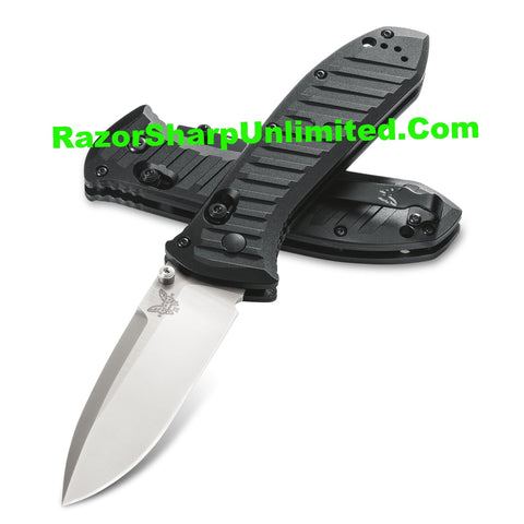 Benchmade 570SBK Presidio II AXIS Lock Folding Knife Black Serrated