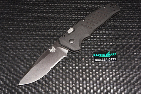 Benchmade 6800SBK APB Automatic Knife Serrated Black