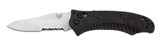 Benchmade 950S-1 Rift Osborne Manual Axis Lock Knife Satin Serrated Edge
