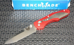 Benchmade 960-RED 960 Osborne Red Anodized Plain Edge Knife