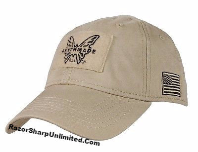 Benchmade 50015-Tan Knives Tactical Coyote Tan Hat Velcro Patch Adjustable