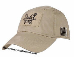 Benchmade 987908F Knives Tactical Coyote Tan Hat Velcro Patch Adjustable