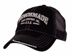 "Benchmade 988162F Knives Tactical ""Solid Steel"" Mesh Black Trucker Hat"