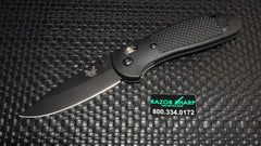 Benchmade 551BK Griptilian AXIS Lock Knife Black Plain Edge