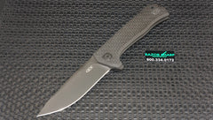 Zt Zero Tolerance 0804CF Flipper Knife Carbon Fiber Black Plain Edge