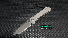 Chris Reeve Small Inkosi Frame Lock Folding Knife Plain Edge Knife