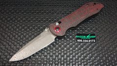 Benchmade 908-161 Stryker Gold Class Damasteel AXIS Lock Knife