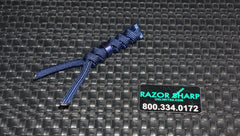 Chris Reeve Knives Large Midnight Blue Cord Tie Lanyard w/ Blue Bead