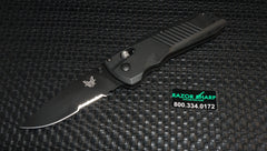 Benchmade 5400SBK Serum AXIS Dual-Action Automatic Knife G-10 Black Serrated