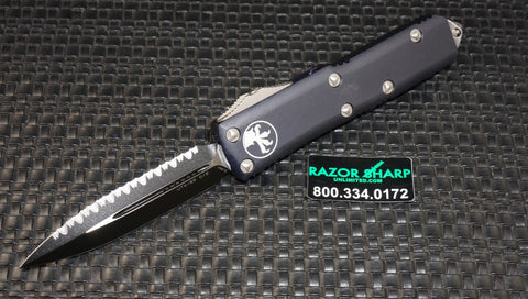 Microtech 232-3 UTX-85 D/E OTF Automatic Knife Tactical Full Serrated
