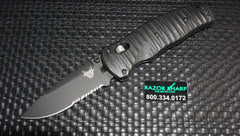 Benchmade 1000001SBK Volli Knife Axis Spring Assisted Black Serrated Edge