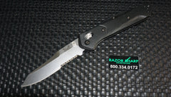 Benchmade 940S-2 Osborne AXIS Lock Manual Knife Black G-10 Serrated
