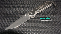 Chris Reeve Large Sebenza 21 CGG Knife Join or Die Drop Plain Stonewash Edge