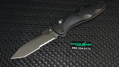 Benchmade 583S Barrage Tanto AXIS-Assist Knife Satin Serrated Edge