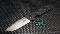 Kershaw 7600 Emerson Launch 5 Automatic Knife Stonewash Plain Edge