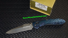 Benchmade 930-91 Gold Class Kulgera Titanum Handle Damascus Blade