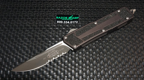 Microtech 111-2 QD Scarab S/E OTF Automatic Knife Black Serrated