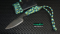 White River Knives Backpacker Fixed Blade Aquatica Paracord S30V Kydex Sheath