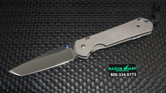 Chris Reeve Large Tanto Sebenza 21 Frame Lock Knife Stonewash Plain