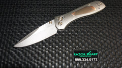 Benchmade Gold Class 707-161 Copper Niobium Sequel Knife Satin Plain