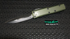 Microtech 232-1OD UTX-85 D/E OTF Automatic Knife OD Green Black Plain