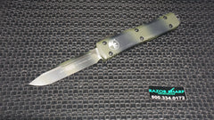Microtech 121-1GC Green Camo Ultratech S/E OTF Automatic Knife Plain