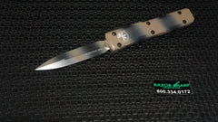 Microtech 122-1TC Tan Camo Contoured Ultratech D/E OTF Automatic Knife Plain