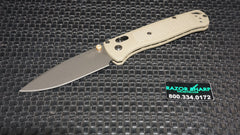 Benchmade 535GRY-1 Bugout AXIS Lock Knife Ranger Green Gray Plain Edge