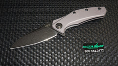Zt Zero Tolerance 0770GRYBW Assisted Opening Knife Gray Blackwash Elmax
