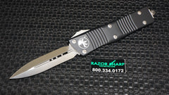 Microtech 138-4 Troodon OTF D/E Automatic Knife Satin Plain Edge Dagger