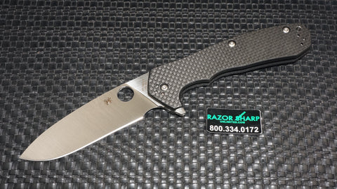 Spyderco C234CFP Lai Amalgam Compression Lock Knife Carbon Fiber Satin