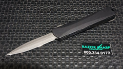 Heretic H024-5A Small Manticore Battleworn D/E Dagger OTF Automatic Knife