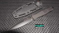 Benchmade 133BK Infidel Black Fixed Infidel Knife Black Aluminum Plain