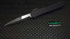 Microtech 120-1T Tri Grip Ultratech Bayonet D/E OTF Automatic Knife Plain Blade