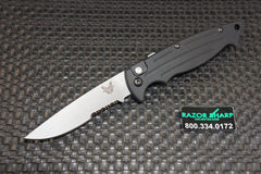 Benchmade 2551S Mini-Reflex II Automatic Knife Satin Serrated Edge