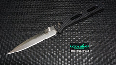 Benchmade 417 Fact AXIS Lock Knife Black Aluminum Satin Plain Edge