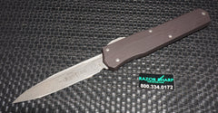 Microtech 241-10 Cypher Microtech Cypher S/E OTF Automatic Knife Black Stonewash