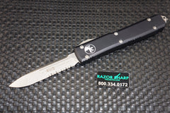 Microtech 121-11AP Ultratech S/E OTF Automatic Knife Apocalyptic Serrated