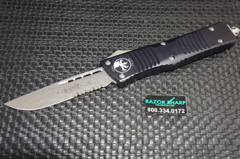 Microtech 143-11AP Apocalyptic Combat Troodon  S/E OTF Automatic Knife Serrated