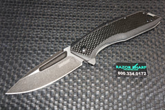 Kershaw 3935 Flourish Assisted Opening Knife Carbon Fiber/G-10 BlackWash